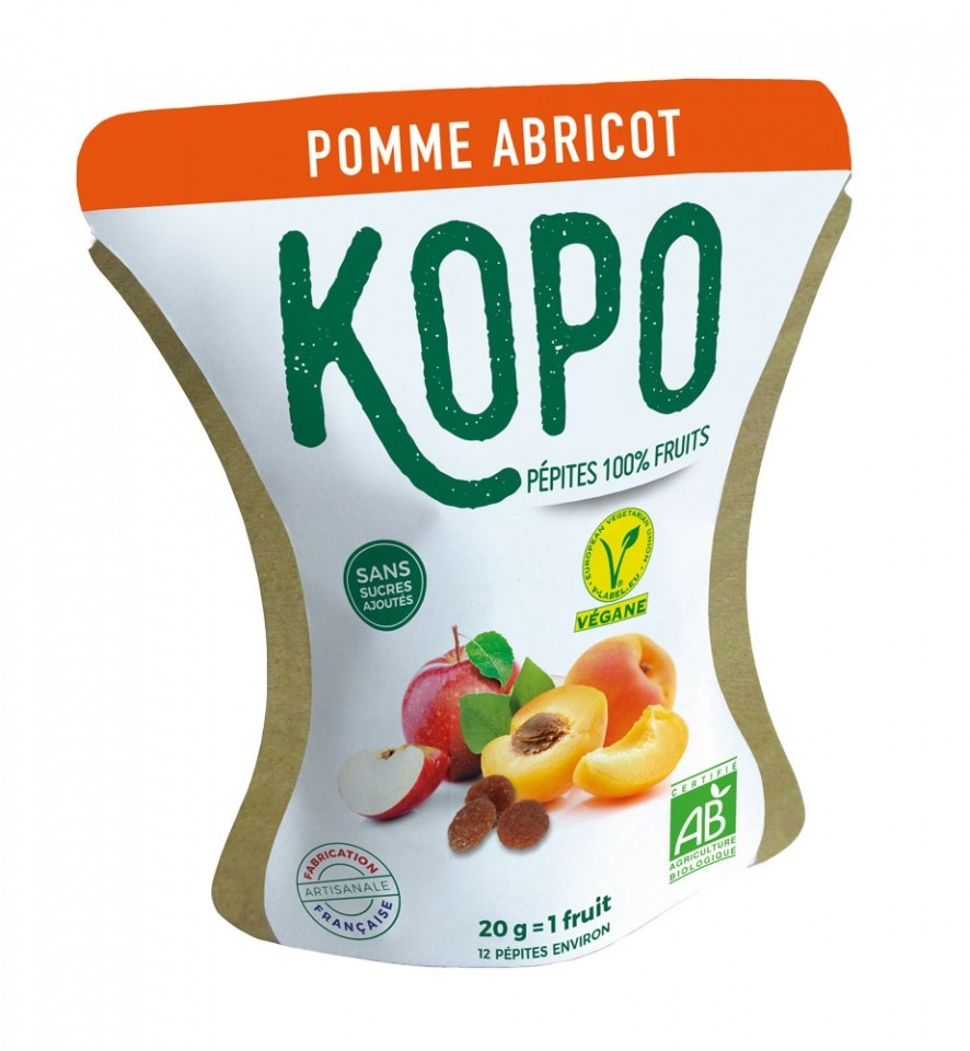 KOPO, LES PEPITES DE FRUITS DE LA RENTREE